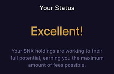 Mintr SNX токены.