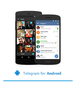 Telegram android.